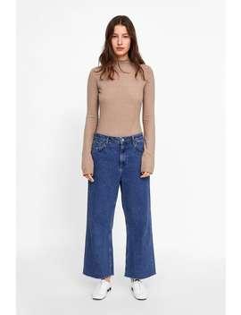 Koszulka Z Przyjemnej W Dotyku Tkaniny  Zobacz Więcej T Shirty Kobieta New Collection by Zara