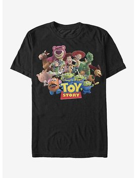 Disney Pixar Toy Story Character Logo Scene T Shirt by Hot Topic