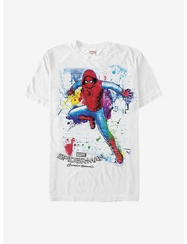 Marvel Spider Man Homecoming Paint Splatter T Shirt by Hot Topic
