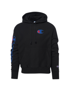 Champion Dbl Script Pullover Hoodie by Champion
