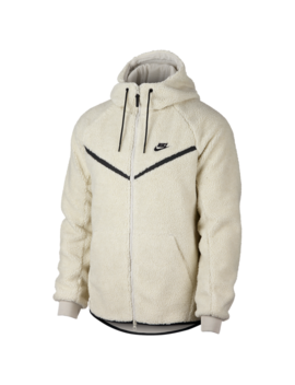 Nike Sherpa Full Zip Windrunner Jacket by Nike