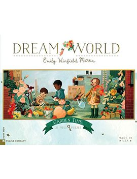 New York Puzzle Company   Dream World Garden Time   24 Piece Jigsaw Puzzle by New York Puzzle Company