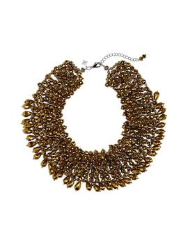 Crystal Statement Collar Necklace by Panacea