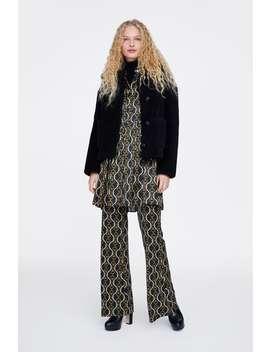 Veste TexturÉ Effet Mouton  Tout Voir Manteaux Femme New Collection by Zara