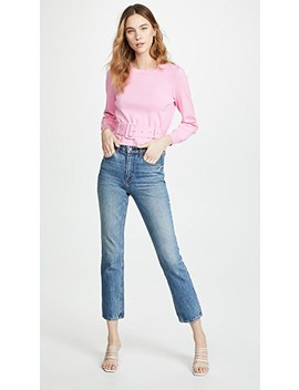 Belted Pullover by Milly