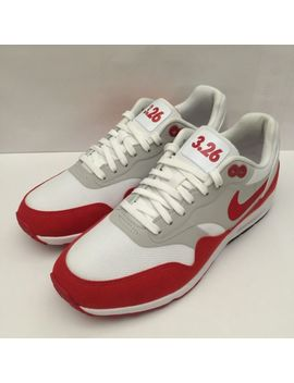 "Nike Air Max 1 Og Ultra 2.0 Le ""Air Max Day 3.26"" White Red(908489 101)Sz Wmns 8 by Ebay Seller"