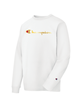 Champion Heritage Gold Script L/S T Shirt by Champion