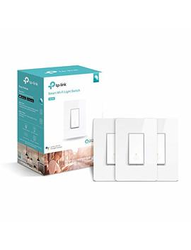 Tp Link Hs200 P3 Kasa Smart Wi Fi Switch (3 Pack) Control Lighting From Anywhere, Easy In Wall Installation (Single Pole Only), No Hub Required, Works With Alexa And Google Assistant, White by Tp Link