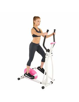 Sunny Health & Fitness P8300 Sunny Health And Fitness Pink Magnetic Elliptical, Pink by Sunny Health & Fitness