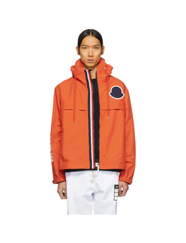 Orange Montreal Jacket by Moncler