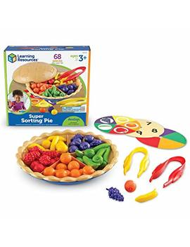 Learning Resources Super Sorting Pie   Ler6216 by Amazon
