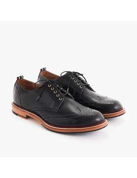 Oar Stripe Shortwing Derbys by J.Crew
