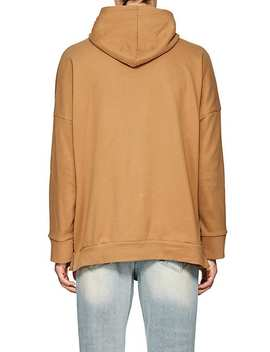 Cotton Blend Fleece Oversized Hoodie by Stampd