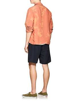 Canty Linen Blend Boxy Shirt by Saturdays Nyc
