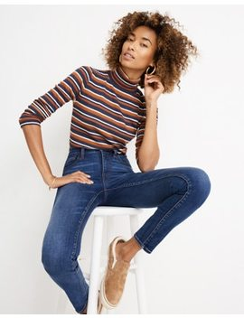 "10"" High Rise Skinny Jeans In Tarren Wash: Thermolite® Edition by Madewell"