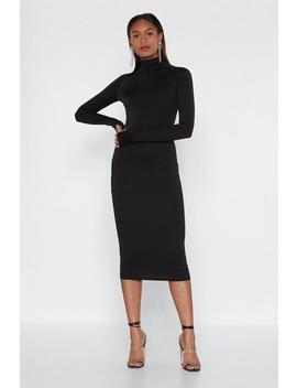 More Is More Midi Dress by Nasty Gal