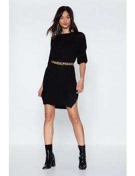 We Get On Sweater Knit Dress by Nasty Gal