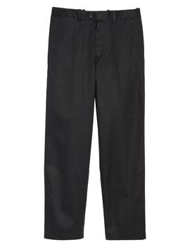 Smartcare™ Classic Supima® Cotton Flat Front Trousers by Nordstrom Men's Shop