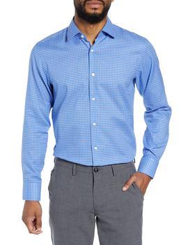 Marley Sharp Fit Check Dress Shirt by Boss