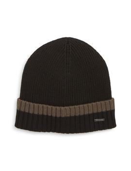 Frisk Turnup Beanie by Boss