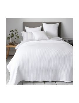 Classic Rib Bedspread by The White Company