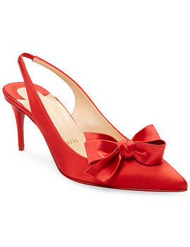 Christian Louboutin Yasling 70  Leather  Pump by Christian Louboutin