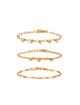 Dainty Bracelet Set by Ettika