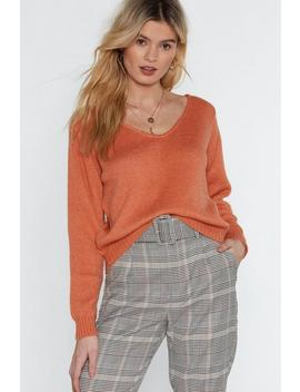 All Is Knit Lost Relaxed Sweater by Nasty Gal