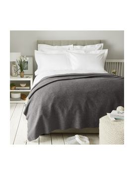Pure Cashmere Throw by The White Company