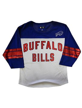 G Iii Sports Buffalo Bills Nfl Womens Mesh Fashion Jersey Adult Sizes by G Iii Sports