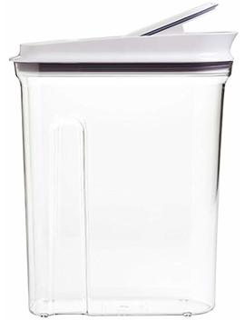 Oxo Good Grip Pop Cereal Dispenser, 4.5 Quart, Clear by Amazon