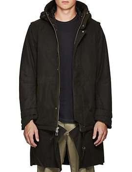 Heavyweight Cotton Canvas Coat by Chapter