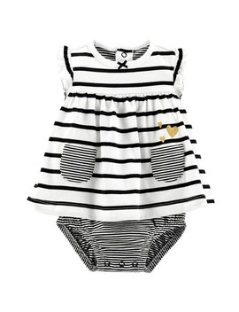 Baby Girl Carter's Striped Sunsuit by Kohl's