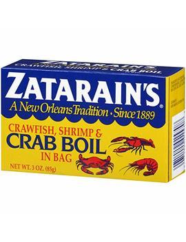 Zatarains Crawfish Shrimp & Crab Boil In A Bag 85g by Zatarain's