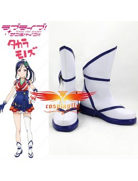 Love Live Sunshine Mijuku Dreamer Matsuura Kanan Cosplay Shoes Boots Any Size Custom Made B3061 by Ali Express