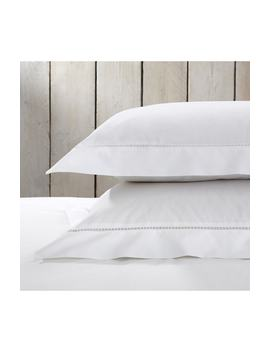 Santorini Cotton Sham by The White Company