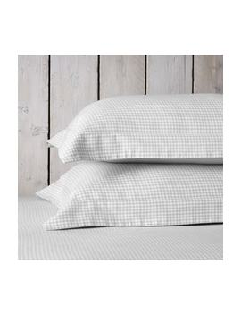 Harrington Flannel Oxford Sham by The White Company