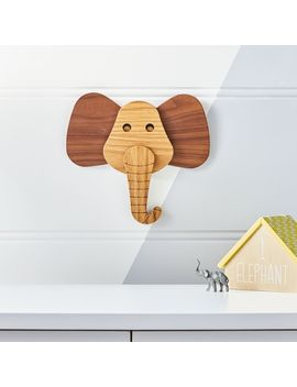 Elephant Animal Head Wall Decor by Crate&Barrel