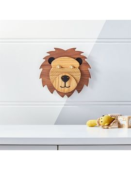 Lion Animal Head Wall Decor by Crate&Barrel