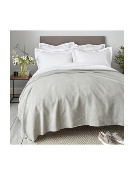 Luxury Wool & Cashmere Throw by The White Company