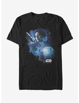 Star Wars Jyn Death Star Pyramid T Shirt by Hot Topic