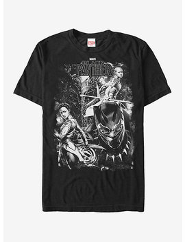 Marvel Black Panther 2018 Starry Characters T Shirt by Hot Topic