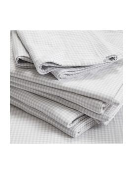 Harrington Flannel Flat Sheet by The White Company