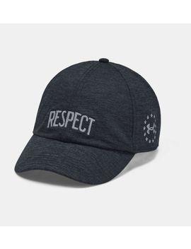 Ua X Project Rock Respect Cap Women's Headwear by Under Armour