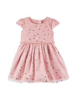 Baby Girl Carter's Star Print Dress by Kohl's