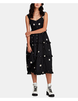 Daisy Chain Cotton Midi Dress by Free People