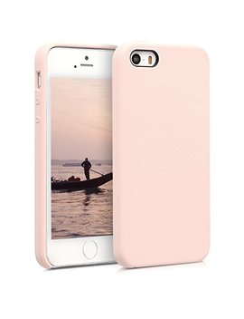 Kwmobile Tpu Silicone Case For Apple I Phone Se / 5 / 5 S   Soft Flexible Rubber Protective Cover   Antique Pink by Kwmobile