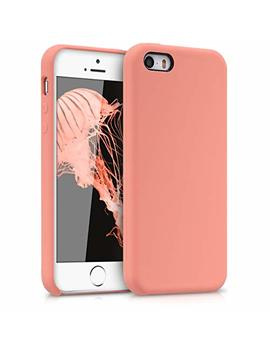 Kwmobile Tpu Silicone Case For Apple I Phone Se / 5 / 5 S   Soft Flexible Rubber Protective Cover   Coral by Kwmobile