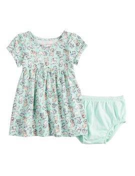 Disney's Aristocats Baby Girl Print Babydoll Dress By Jumping Beans® by Disney's Aristocats Baby Girl Print Babydoll Dress By Jumping Beans
