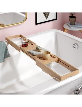 The Twillery Co. Eshleman Bamboo Bathtub Caddy & Reviews by The Twillery Co.